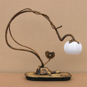 Mulberry Rice Paper Ball Handmade Heart Design lamp