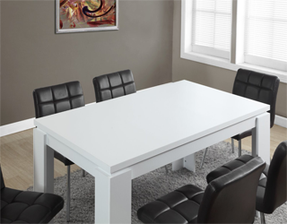 Monarch hollow-core dining table