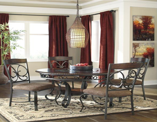 Dia round dining table