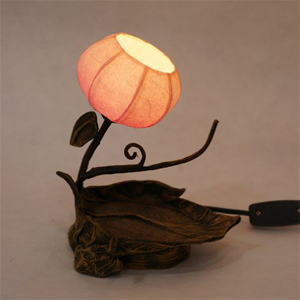 Mulberry Rice Paper Ball Handmade Twig Leaf Lamp