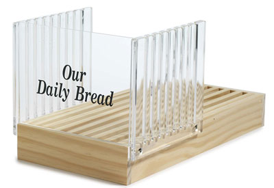 3. Norpro Bread Slicer with Crumb Catcher