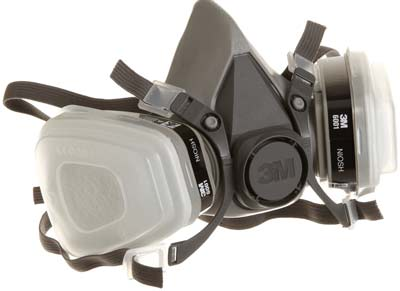 2. Paint Projector Respirator by 3M (Medium)