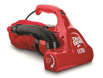 7. Dirt Devil M08230RED Corded Hand Vacuum Cleaner
