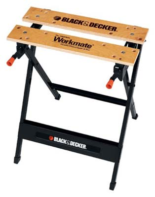 2. BLACK+DECKER WM125 Portable Work Bench