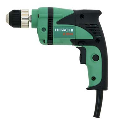 7. Hitachi D10VH Reversible Driver Corded Power Drill