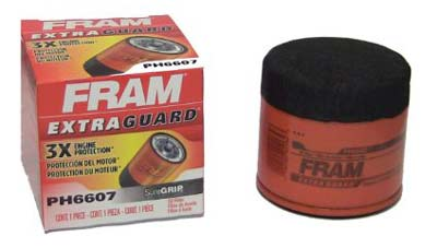 3. Fram Oil Filter (PH6607)