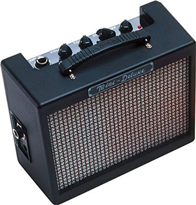 4. Fender Electric Guitar Amp (Mini Deluxe)