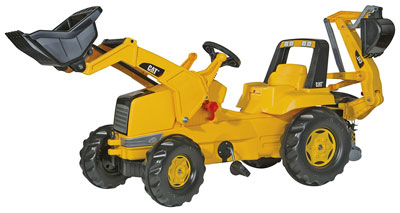 6. rolly toys Construction Tractor