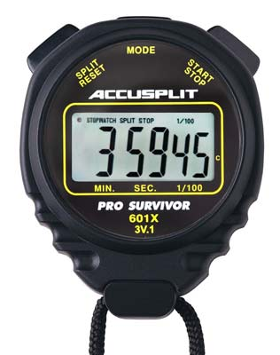 6. ACCUSPLIT A601X Stopwatch