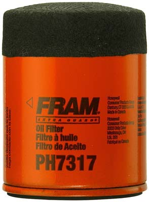 1. Fram Oil Filter (PH7317)