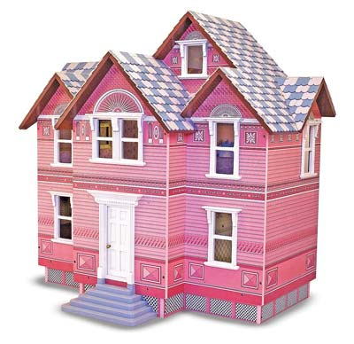 3. Melissa & Doug Doll House