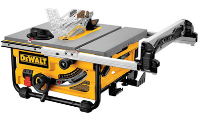 4. DEWALT DW745 10-Inch Table Saw