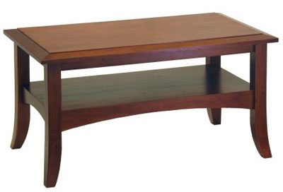 4. Winsome Wood Antique Walnut Coffee Table