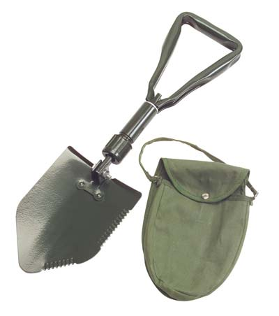 10. TEKTON 3-Way Folding Shovel