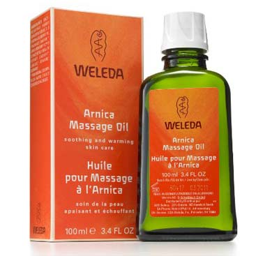 7. Weleda Arnica Massage Oil