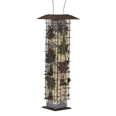 3. 336 Squirrel-Be-Gone Wild Bird Feeder by Perky-Pet