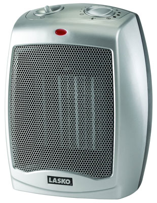 2. Lasko 754200 Heater with Adjustable Thermostat