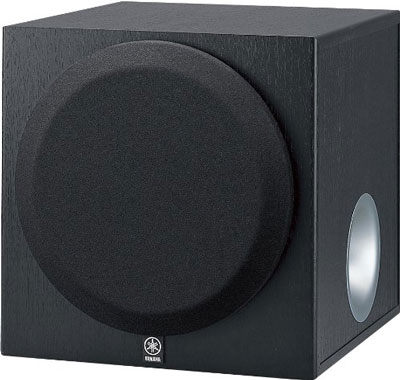 1. Yamaha YST-SW012 8 Inch Active Subwoofer