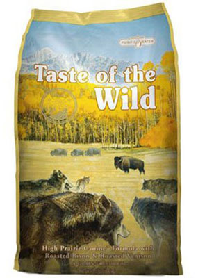 1. Taste of the Wild, Canine Formula