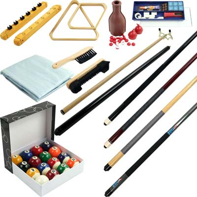 3. Trademark Gameroom Billiard Accessory Kit (32 Piece)