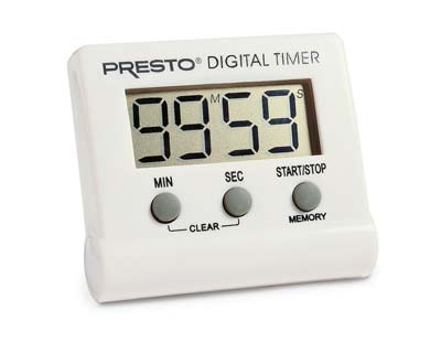 7. Presto Electronic Digital Timer (04213)