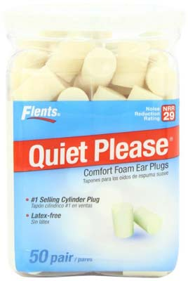 3. Flents Ear Plugs (50-Pair)