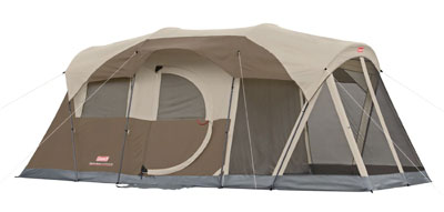7. Coleman 6-Person Screened Tent