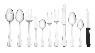4. Pflatzgraff 53-Piece Flatware Set
