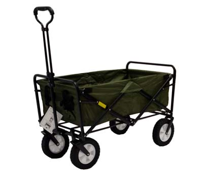 7. Mac Sports Folding Wagon (Green)