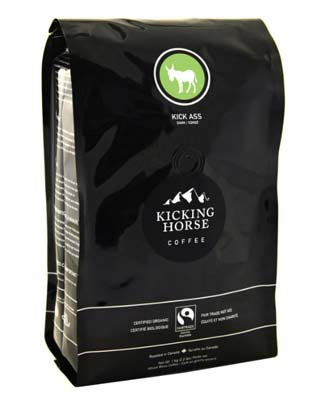 5. Kicking Horse Coffee Whole Bean Coffee