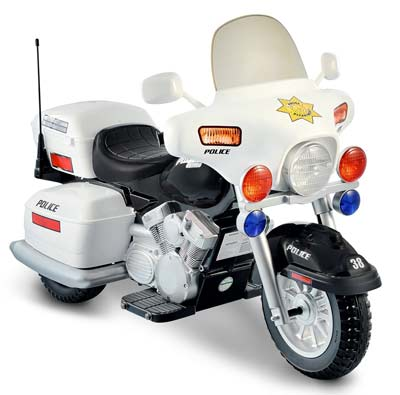 5. National Products 12V Police Motorcycle