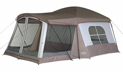 10. Wenzel 8 Person Klondike Tent