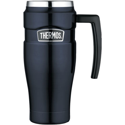 1. Thermos Stainless King Travel Mug (Midnight Blue)