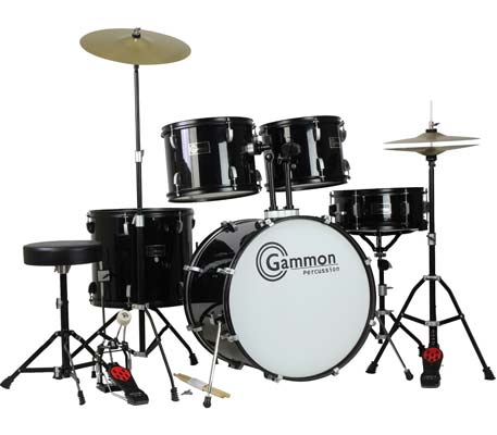 1. Gammon Percussion Drum Set