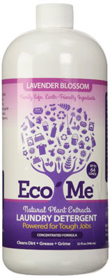 5. Eco-me 32 Ounce Lavender Blossom Laundry Detergent