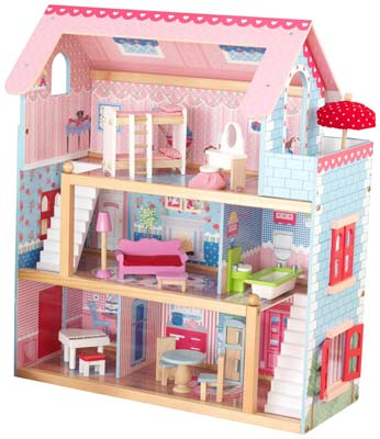 1. KidKraft Chelsea Doll Cottage