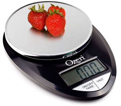 10. Ozeri Digital Food Scale (1 g to 12 lbs Capacity)