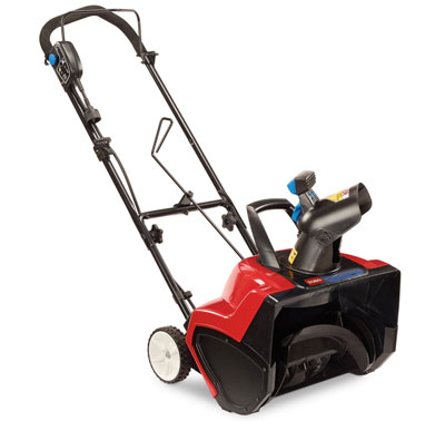 7. TORO 38381 Electric Curve Snow Blower