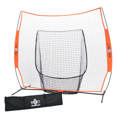 4. Bownet 7' x 7' Big Mouth Baseball Pitching Net