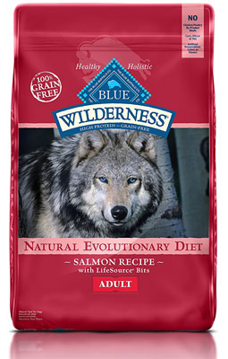 6. BLUE Wilderness Dry Adult Dog Food