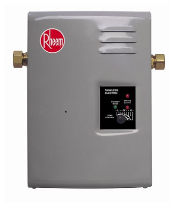 3. Rheem RTE 9 Electric Tankless Water Heater
