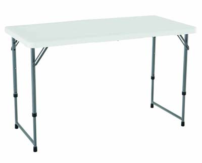 4. Lifetime 4428 Folding Utility Table