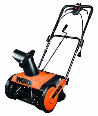 8. Worx WG650 Electric Snow Thrower