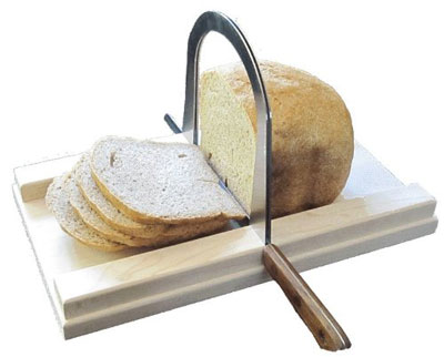 10. Bread Slicer Depot Brushed Stainless Steel Bread Slicer