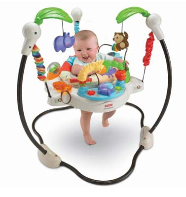 9. Fisher-Price Luv U Exersaucer