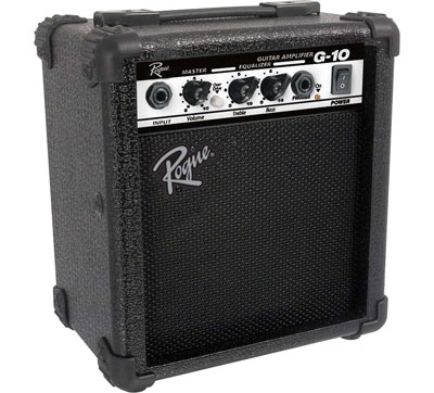 7. Rogue 10W Black Guitar Combo Amp (G10)