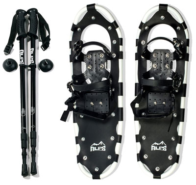"1. ALPS 25"" All Terrain Snowshoes"