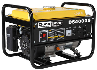4. DuroStar Gas Powered Portable Generator (DS4000S)