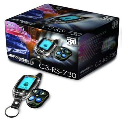 7. Auto Page C3-RS730LCD Remote Car Alarm