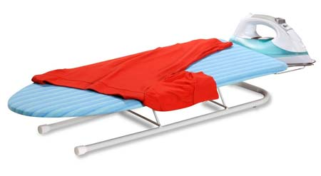 4. Honey-Can-Do Collapsible Tabletop Ironing Board